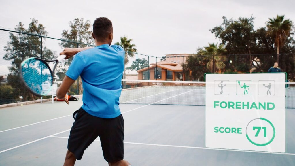 Wingfield aiming to revolutionise amateur tennis using on-court data and analytics