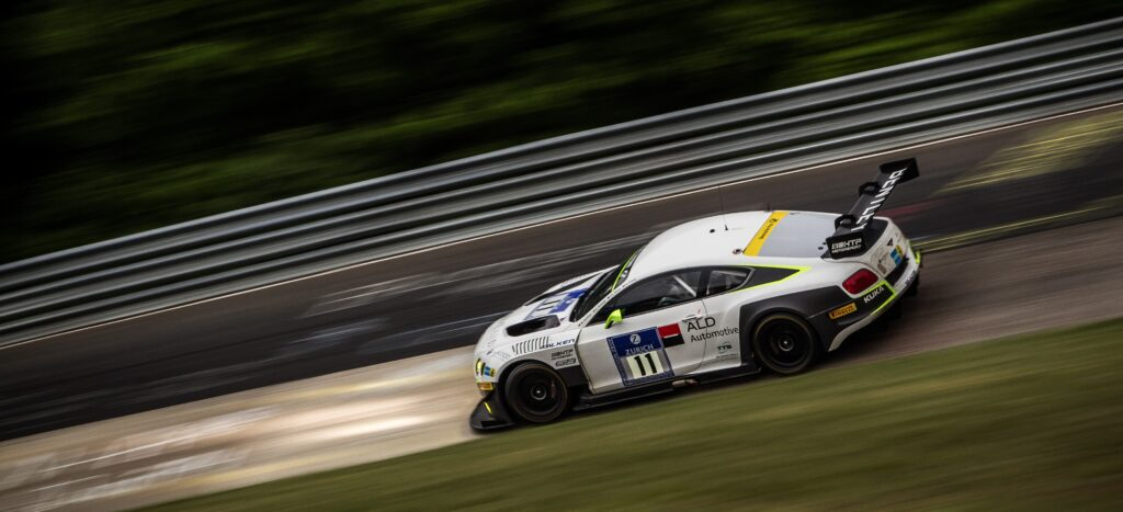 Primat claims historic top-10 finish for Bentley at Nurburgring 24 Hours